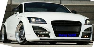 Flush  Audi TT2S with Full Carbonfiber Body Kit 1