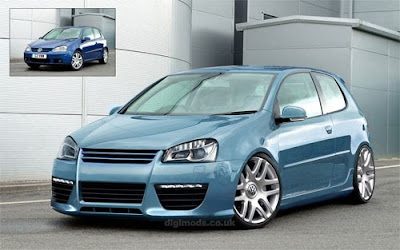 VW Golf,Modification Concept by Digimods