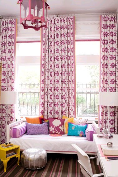 Bromeliad: Metallic Moroccan poufs - Fashion and home decor DIY and ...