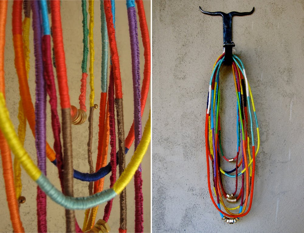 Bromeliad more knots diy friendship rope necklaces for Rope designs and more