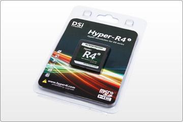 R4, R4i, R4 3DS, R4i gold 3DS, R4i SDHC: Hyper-R4i Hyper-Revolution