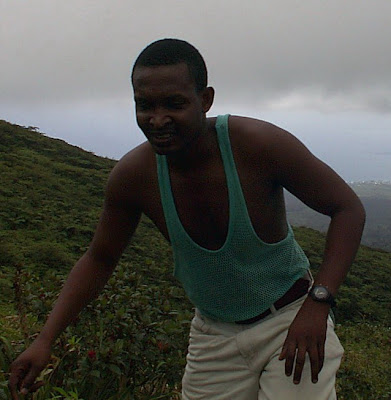 He used to take me climbing the Soufriere Volcano. PC Palmer