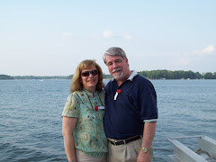 Larry and Dena at Lake Norman