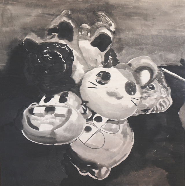 [YOUTH+IN+ASIA-MASKS-SUMI+INK+ON+WOOD+PANEL+91.5+X91.5+CM+by+RIKKI+KASSO+1.jpg]