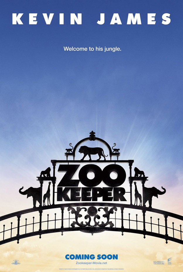 Zookeeper Poster : Teaser Trailer