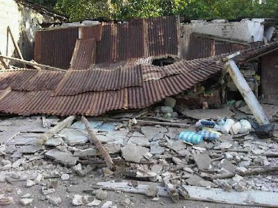 Temblor on Ntv Frontera2  Im  Genes Despu  S Del Temblor En Tucacas Del Estado