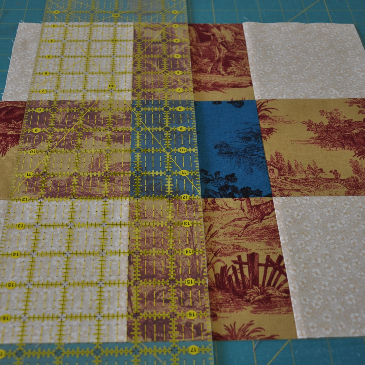 Disappearing 9-patch variation quilting block - YouTube