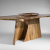 Organic shaped furniture by Joseph Walsh
