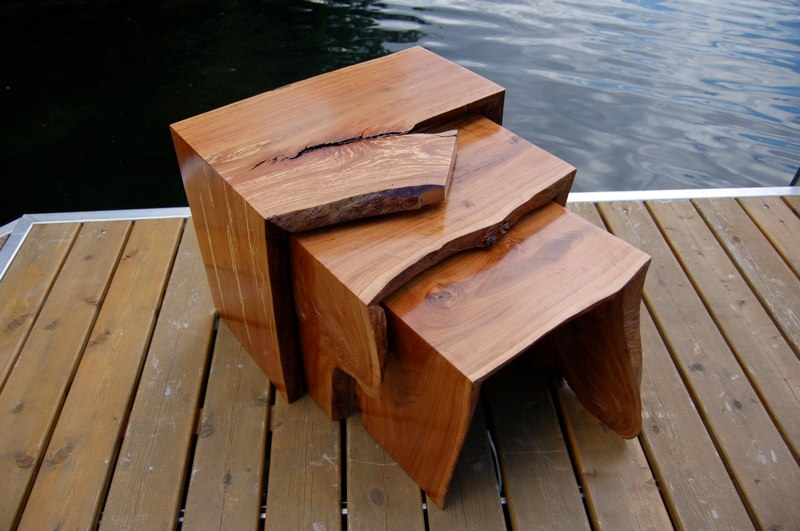 Bon Holtz Furniture   Modern Organic Furniture Art