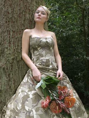 Camouflage Wedding Dress. Labels: Camo Wedding Dress