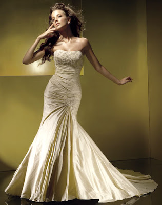 Strapless Wedding Dress more