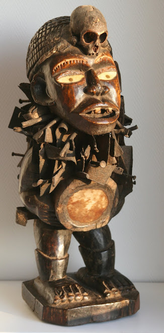 statue Nkisi nkondi Kôngo / Vili
