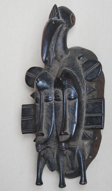 masque senoufo cote d'ivoire