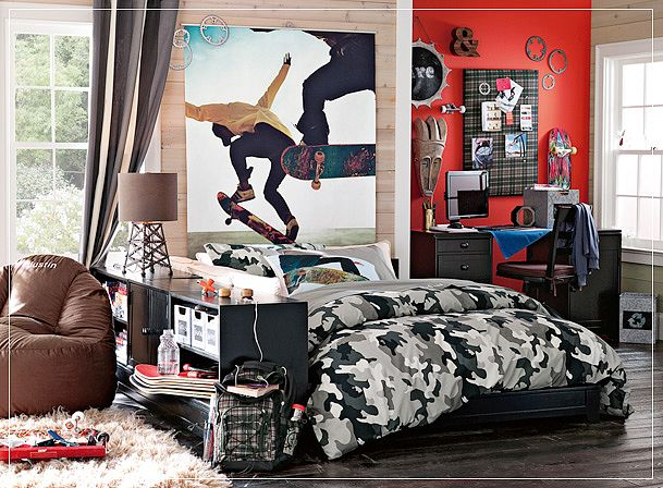 make no mistake a teens room is their home within your home and