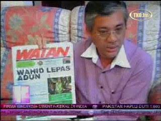 PAS Tidak Benarkan Wahid kosongkan DUN - Malaysiakini