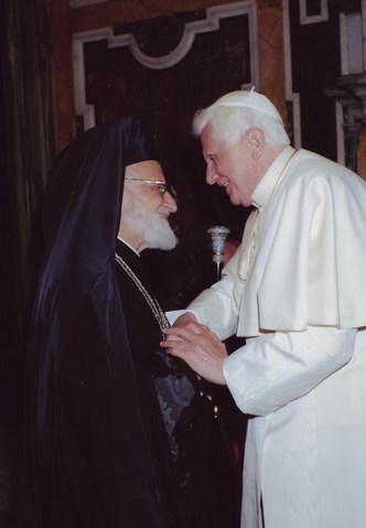 BENEDICTO XVI Y GREGORIO III