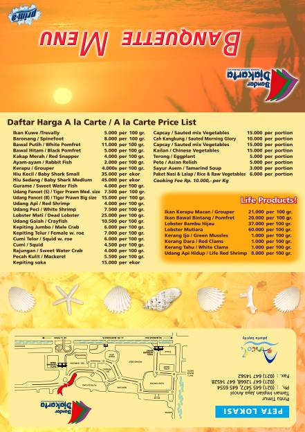 Contoh Flyer Makanan