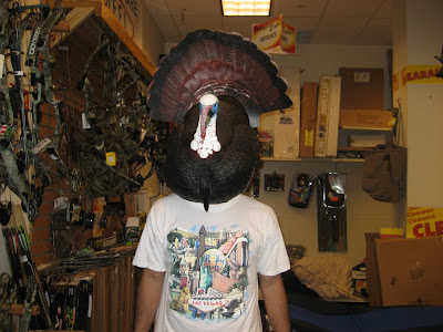 Mike Miner is a Turkey Head