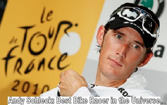 Andy Schleck: Best Bike Racer in the Universe