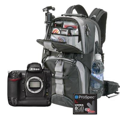 Nikon D3x + Free 8GB CF Memory Card + Large Calumet Camera Backpack
