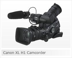 Canon Xl H1 Camcorder