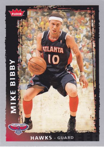 49 - Mike Bibby (Originally a member of the Vancouver Grizzlies remember