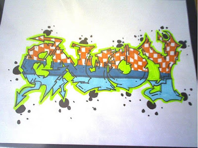 graffiti murals, graffiti sketch