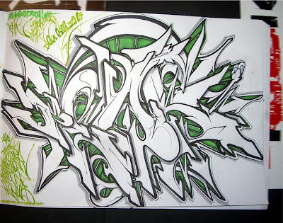 graffiti sketch, graffiti creator