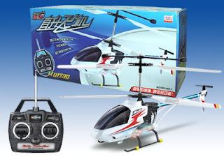 Mainan Remote pesawat dari helicoptermini.com