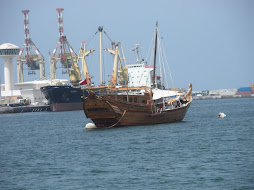 Traditional Ship in the Port