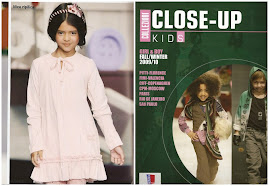 GIOVANA NA REVISTA COLLEZIONI CLOSE-UP KIDS  ITALY