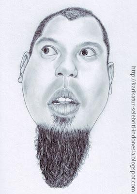Ahmad Dhani - Karikatur Selebriti Indonesia