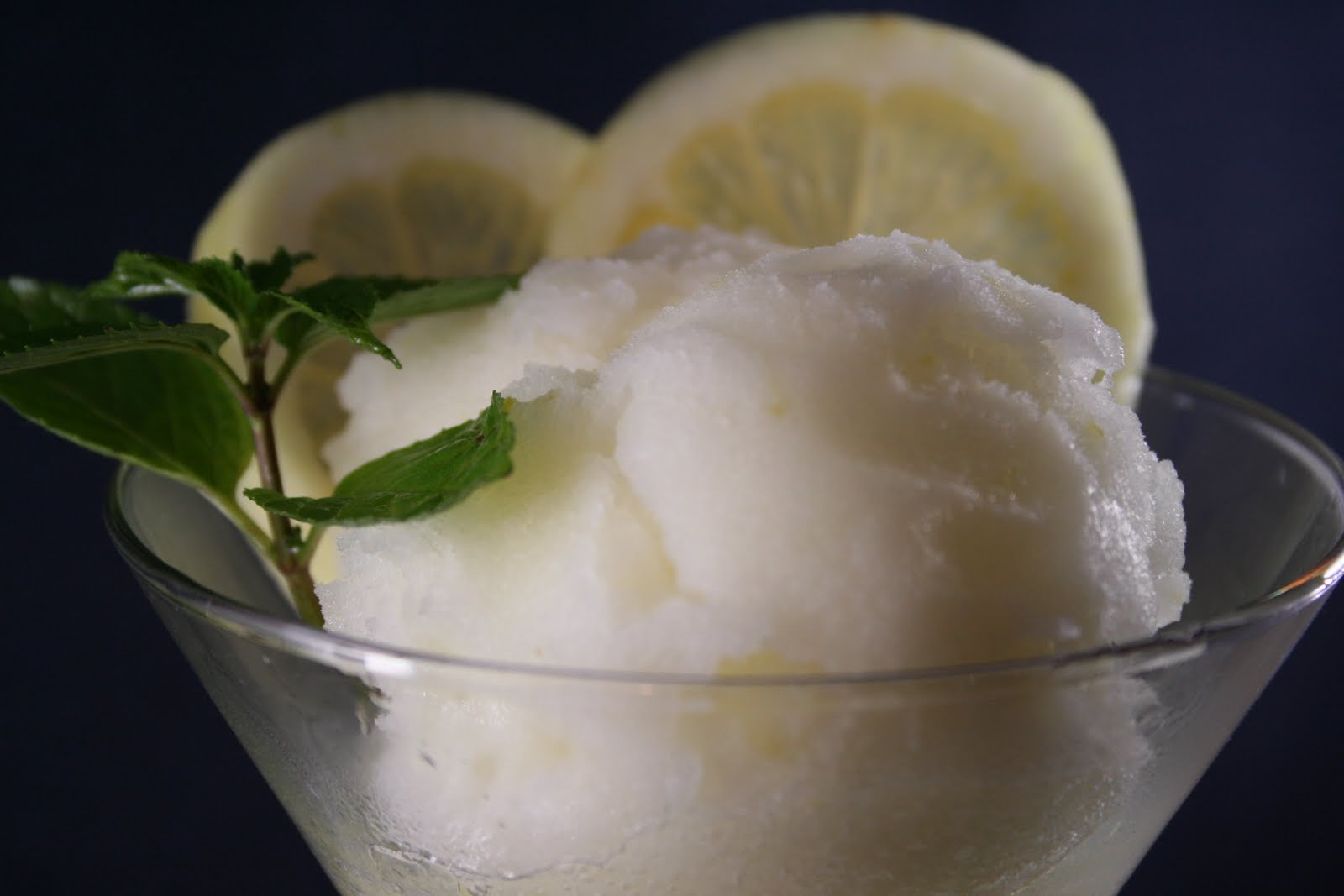 Crostini and Chianti: Electrolux #splits: Lemon Sorbet