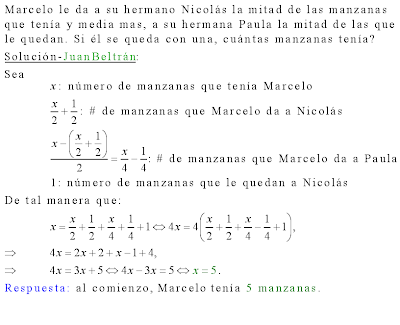 Funciones lineales algebra de baldor