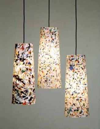 Lamparas recicladas - Lamparas de mesa recicladas ...