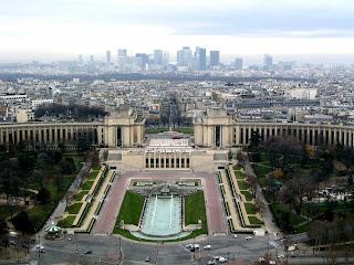 معالم باريس السياحية Paris-trocadero