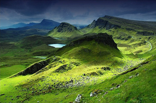 globe scotland's landscape
