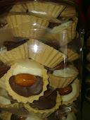 Tart Coklat Almond