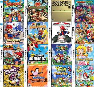 Pack Juegos NDS  (Espanol) (Juegos 2014)