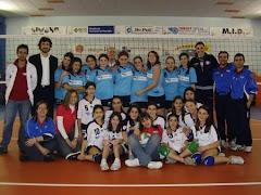 17 Marzo 2007: la prima partita di volley nella nuova palestra