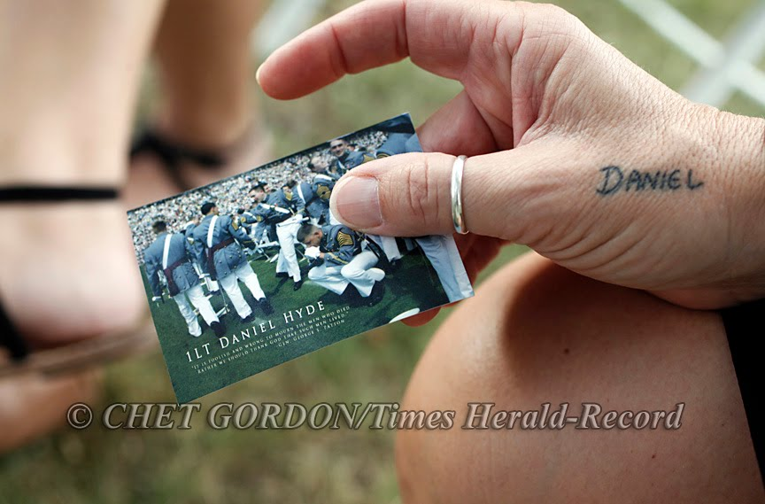 For 1st. Lt. Daniel Hyde. USMA, West Point, NY. 8•Aug.•10 – Chet ...