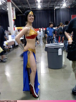 Wonder Woman plus Leia