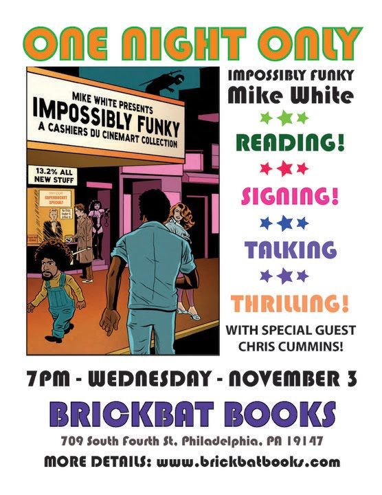 November 3 2010 - Impossibly Funky at Brickbat Books