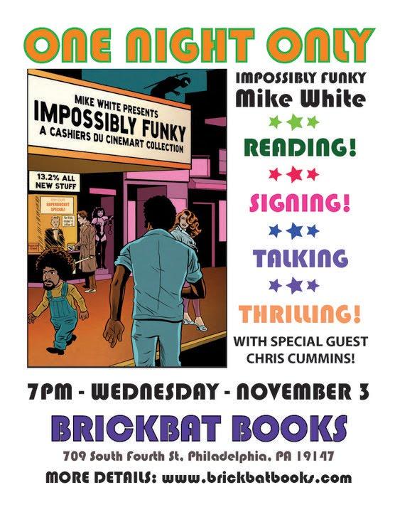 November 3 2010 - Impossibly Funky at Brickbat Books