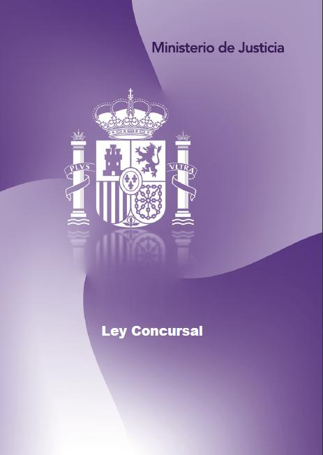 Ley concursal ministerio de justicia vigilans antis for Ley de ministerios