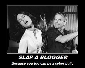 Slap a Blogger