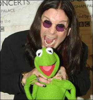Ozzy Osbourne Bites Kermit the Frog's Head Off