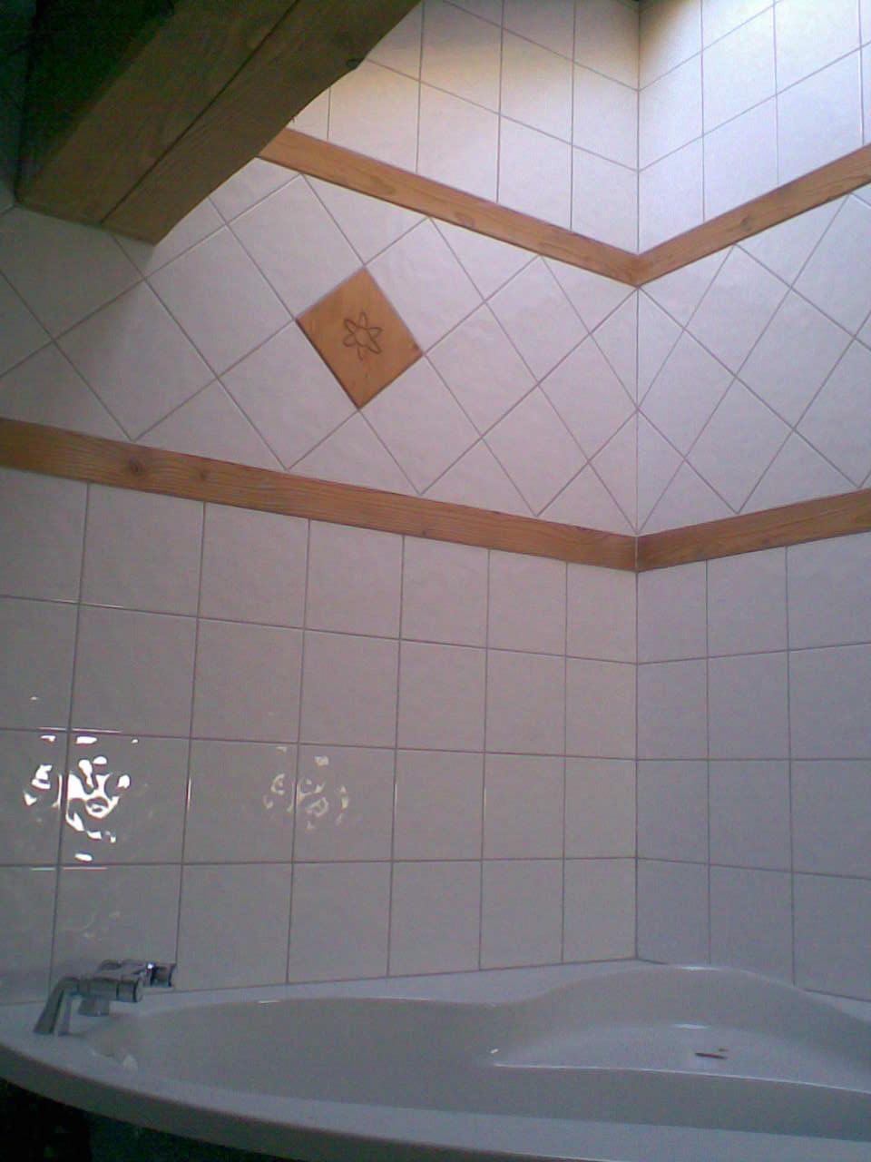 Faience bleue salle de bain - Model de faience pour salle de bain ...