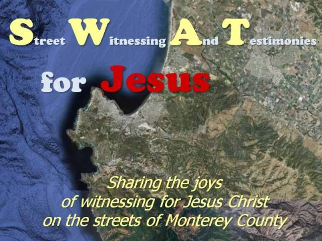 SWAT For Jesus in Monterey