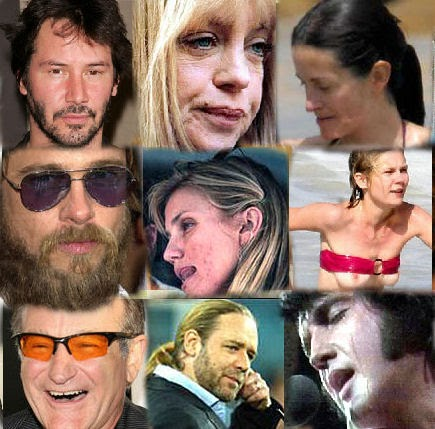 Celebrity body odor
